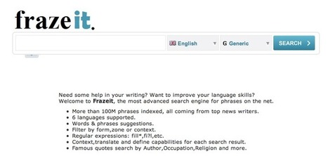 FrazeIt - a resource for improving writing skills | Technology Ideas | Scoop.it