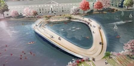 'The Rink' Pedestrian Bridge Proposal / Kamvari Architects | ARCHIresource | Scoop.it