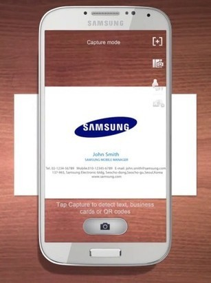 Samsung Galaxy S4 Optical Reader | 2D CODES | Scoop.it