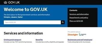 GOV.uk: gebruikers centraal op een overheidswebsite | Online communicatie en social PR | Scoop.it