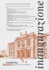 Inaugurazione dell'Archivio Storico della Provincia di Frosinone | Généal'italie | Scoop.it