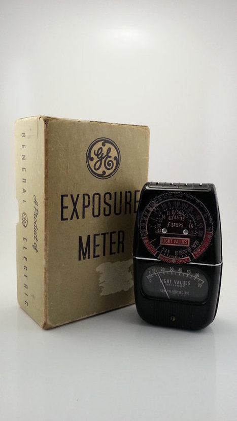 Vintage General Electric Light Exposure Meter Type DW-58 | AtomicVault.etsy.com | Scoop.it