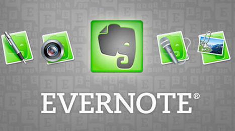 Evernote añade recordatorios a tus apuntes | Las TIC y la Educación | Scoop.it