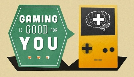 Gaming is Good for You (Infographic) | Game-based Learning: The Final Frontier? | Scoop.it