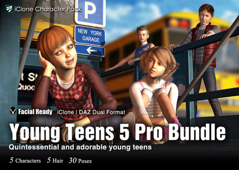 DAZ Young Teens5 Pro | Wolf and Dulci Hour Links | Scoop.it