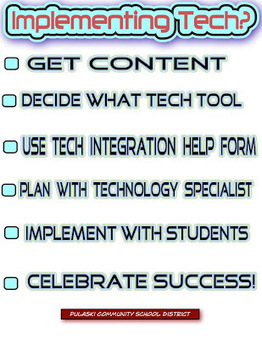 iPaddiction: Implementing Tech Checklist | mobile devices and apps in the classroom | Scoop.it