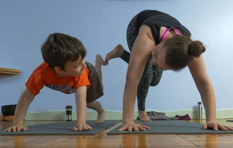 Six options for family fitness, from rock-climbing to yoga | A Little Bit of Everything... | Scoop.it