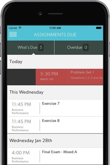 WhatsDue: gestione attiività e avvisi scadenze - Never Miss A Due Date | AulaMagazine Scuola e Tecnologie Didattiche | Scoop.it