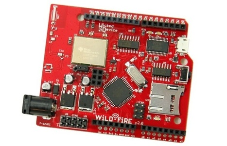 Wicked Device WildFire WiFi Arduino Compatible Board Launches - Geeky gadgets | Raspberry Pi | Scoop.it