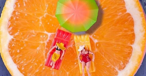 Photographer Cooks Up Tiny Worlds of Food | interior design | Scoop.it