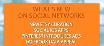 Ce qu'il faut savoir sur les réseaux sociaux : Les Pages Etsy, La publicité sur Pinterest, Les mises à jour des apps Facebook et Twitter sur iOS7   benoitvallon   Scoop.it
