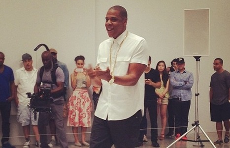 Jay-Z Picasso Baby Performance Art | Contemporary Art, Design and Technology | Scoop.it