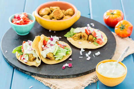 Falafel Tacos - Forks Over Knives | Vegan Food | Scoop.it
