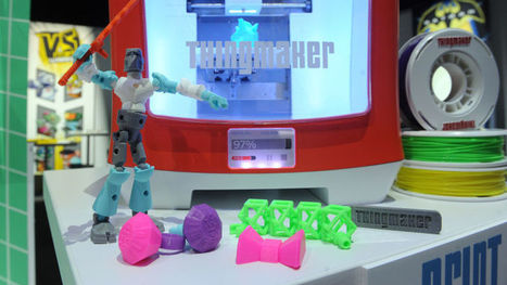 Mattel Is Making a $300 3D Printing Toy Studio For Kids | Observatorio Innovación | Scoop.it