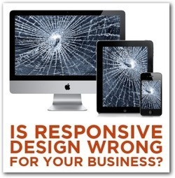 5 Reasons Why Responsive Design is Wrong for Your Business - | Responsive design for the LO14 Project | Scoop.it