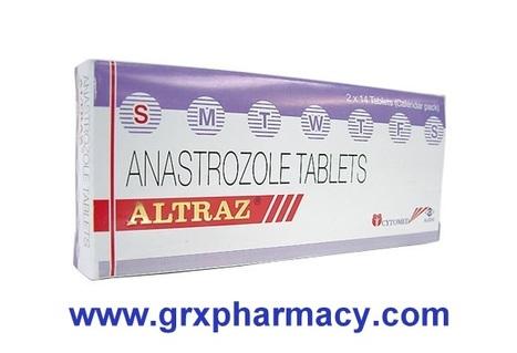 Altraz (Anastrozole Tablet) | Grxpharmacy | Scoop.it