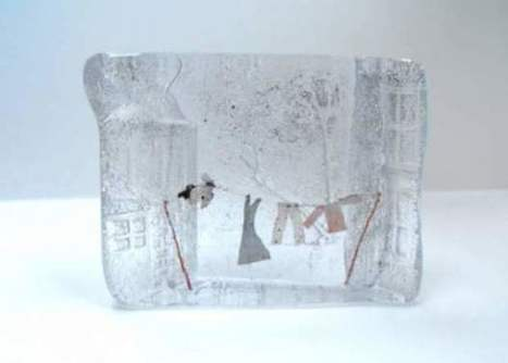 #Miniature wonderlands captured in #molten #glass. #art #sculpture | Luby Art | Scoop.it