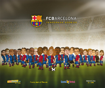 Communication 2.0 : Le Barça et son appli FCB Toons Town | Tout le marketing | Scoop.it