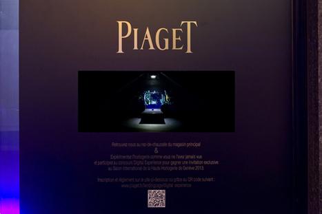 Piaget, une expérience digitale inédite…  Luxe et Marketing | Comment communique les marques de luxe ? | Scoop.it