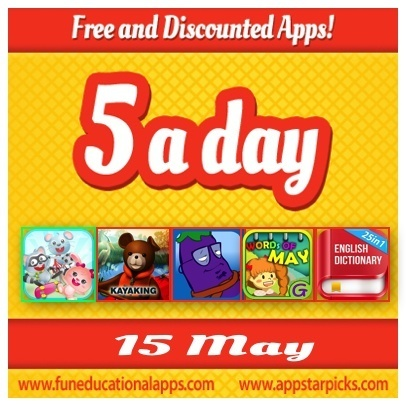 Kids Apps Deals - Top Apps Gone Free - May 15 - Fun Educational Apps for Kids: Reviews, Daily Deals and Giveaways | Best Apps for Kids | Scoop.it
