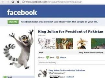 Facebook page nominates cartoon character King Julien for Pak ... | Machinimania | Scoop.it