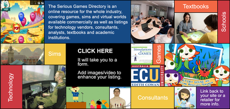 Serious Games Directory | Creatividad en la Escuela | Scoop.it