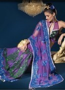 Designer Wear Sarees | Embroidered Sarees | I don't do fashion, I am fashion | Scoop.it