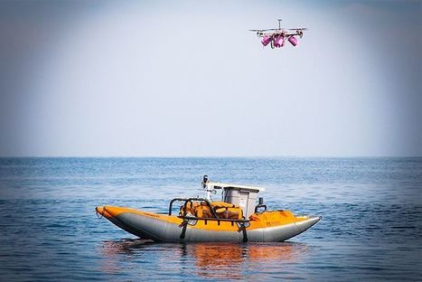 Drones for Good: These Bots Can Save the Whales by Collecting Their Snot | Heron | Scoop.it