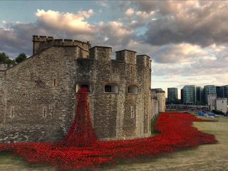 Thousands of Ceramic Poppies Commemorate WWI in London | Life in London, Social Media, English Literature and Random Musings | Scoop.it
