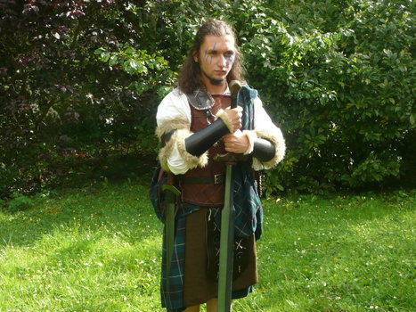 Guerrier des Highlands, costume de Grandeur Nature   Grandeur Nature   Scoop.it