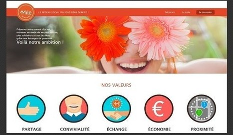 [La France a d'incroyables start-up] Échange de services et de troc d'objets | 1001 Startups | 1Mile | Scoop.it