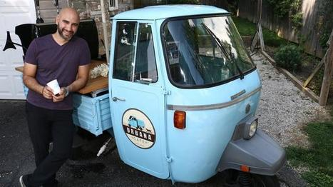 Findlay's blue espresso Vespa morphing into brick-and mortar shop | Vespa Stories | Scoop.it