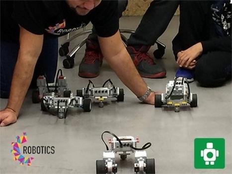 Ρομπουική -UTech Lab Εργαστήριο Τεχνολογίας Ιδρύματος Ευγενίδου | Informatics Technology in Education | Scoop.it