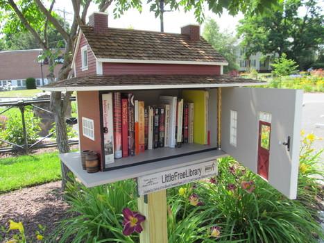 Carte collaborative des maisonnettes «livre-service»- Lire la suite | Des livres, des bibliothèques, des librairies... | Scoop.it
