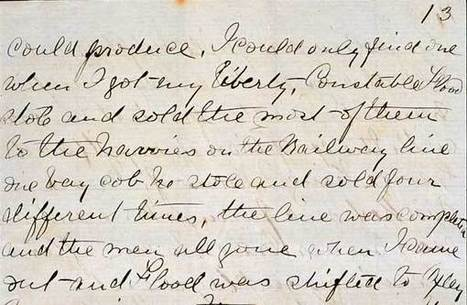 National Museum of Australia - Ned Kelly's Jerilderie Letter | Primary history- The Australian Colonies | Scoop.it