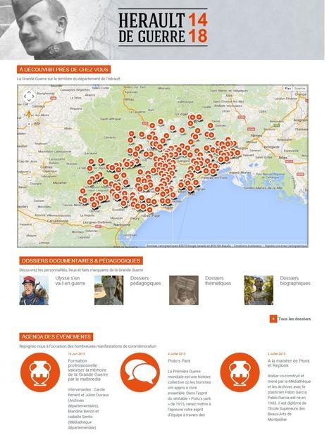Hérault de guerre 14-18 - La Grande Guerre sur le territoire du département de l'Hérault | Nos Racines | Scoop.it