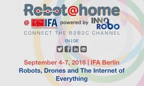Robot@home at IFA powered by Innorobo | Upcoming Industry Events | EEWeb Community | Innorobo - Press | Scoop.it