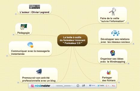 La boite à outils  du formateur innovant | Entrepreneurs du Web | Scoop.it