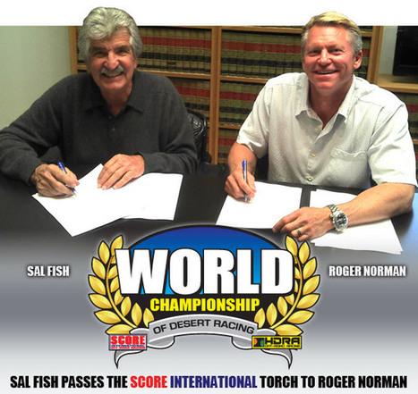 Sal Fish Passes the SCORE International Torch to ... - race-deZert.com | PR-LightingSolutions.com | Scoop.it