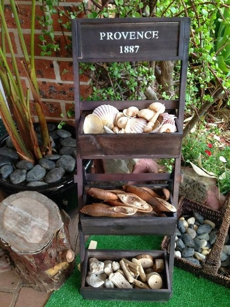 let the children play: Handy ideas for storing loose parts for play | Outdoor Learning | Scoop.it