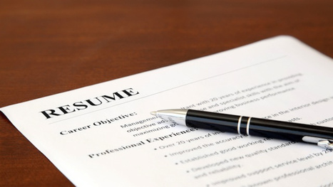 Have a Friend Read Your Resume, then Guess the Job You're Applying For | Other Online Job Articles | Scoop.it