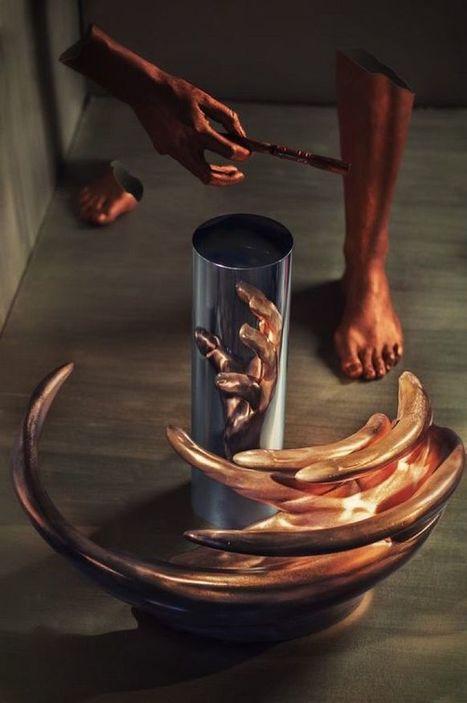 Art et science ou l'esprit du mélange=Anamorphic sculpture • 366jourspour | Blogueur-débutant ... une veille pour progresser | Scoop.it