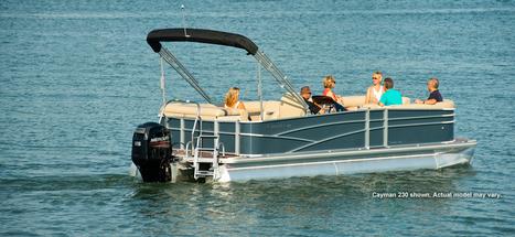 Cayman 210 Series Pontoon Boat   Fishing Pontoon Boat   Pontoon Boat Manufacturer : 2013   Pontoon Boats   Scoop.it