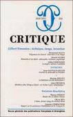 Critique n° 816 : Gilbert Simondon : technique, image, invention   Philosophie-Toulouse   Scoop.it