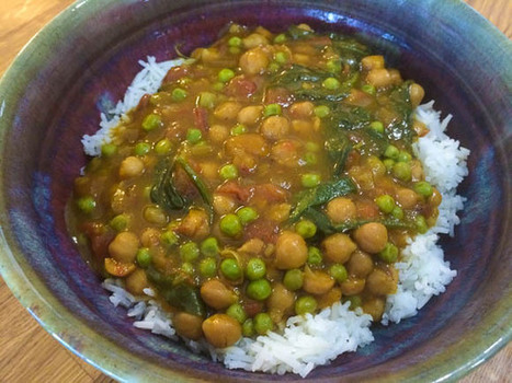 Slow Cooker Recipe: Lower Fat Vegan Butternut Squash and Chickpea Coconut Curry — Low Fat Vegan Chef Recipes | Vegan Food | Scoop.it