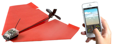 A Smartphone Controlled Paper Airplane | Luxury Hotels | Scoop.it