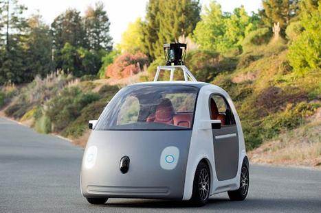 Google présente le prototype de sa voiture sans chauffeur | high-tech, tendances et prospective | Scoop.it