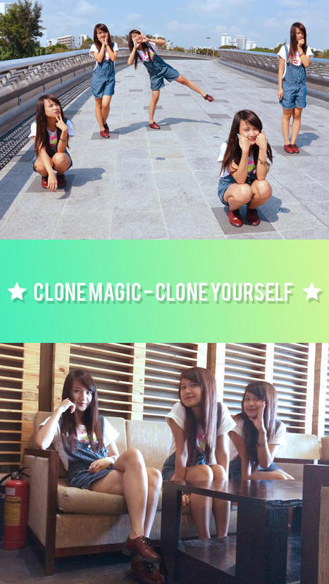 Clone Magic - Clone Yourself, Split Pic, Clone Camera and Air Pic Maker for SnapChat, Tumblr, Kik Messenger and Flickr (Photography) - Zbynek Kysela | Instagram Tips and Tricks | Scoop.it