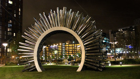 Aeolus - Acoustic Wind Pavilion | by Luke Jerram | DES ARTS SONNANTS - CRÉATION SONORE ET ENVIRONNEMENT - ENVIRONMENTAL SOUND ART | Scoop.it