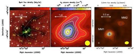Astronomers witness birth of Milky Way's most massive star | Amazing Science | Scoop.it